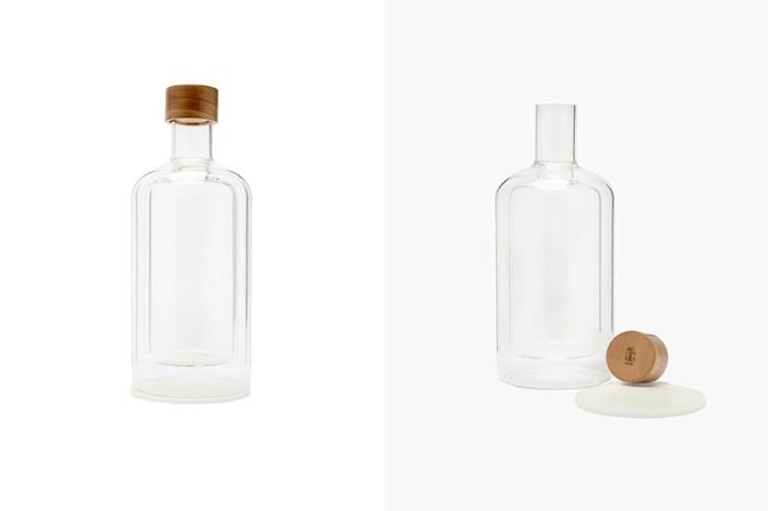 奢侈小物:雙層玻璃水瓶,簡約設計售價卻高達 $995 美元?
