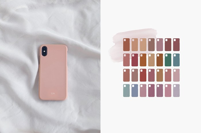 攻佔日本女生 IG:這款「生日手機殼」,366 天各有一個專屬色!