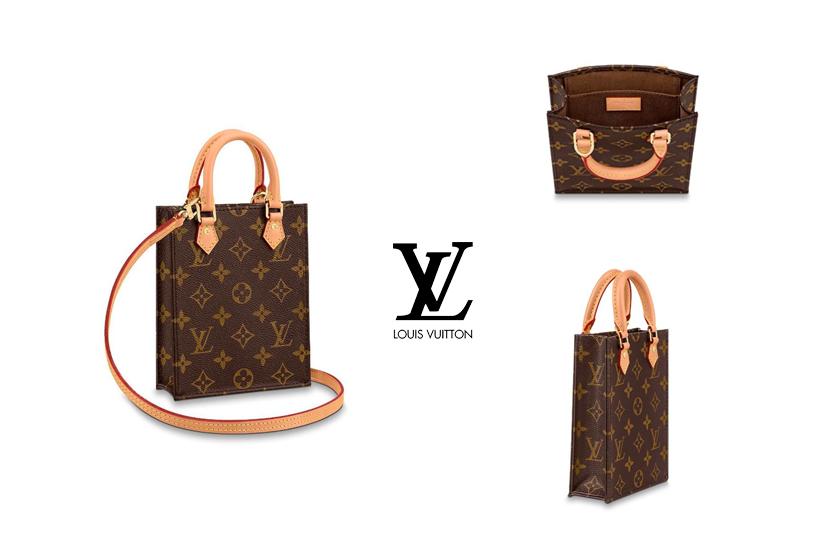 louis vuitton petit sac plat tote bag handbags mini bags
