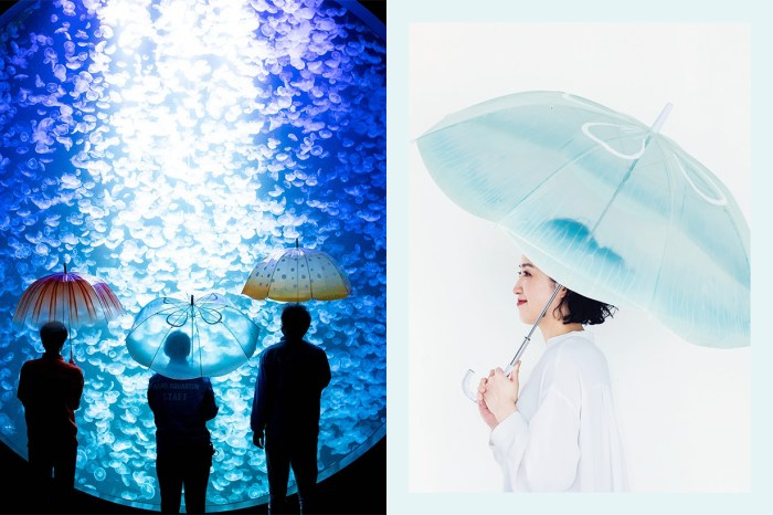下雨天也不再討厭!Felissimo 推出通透感水母傘,走在傘下也太夢幻