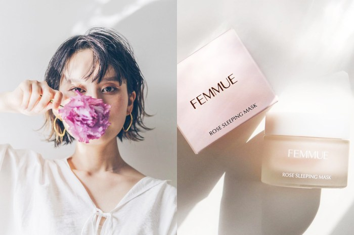 猶如為皮膚用玫瑰花瓣浸浴一樣!Femmue 這款玫瑰睡眠面膜讓你一覺變美!