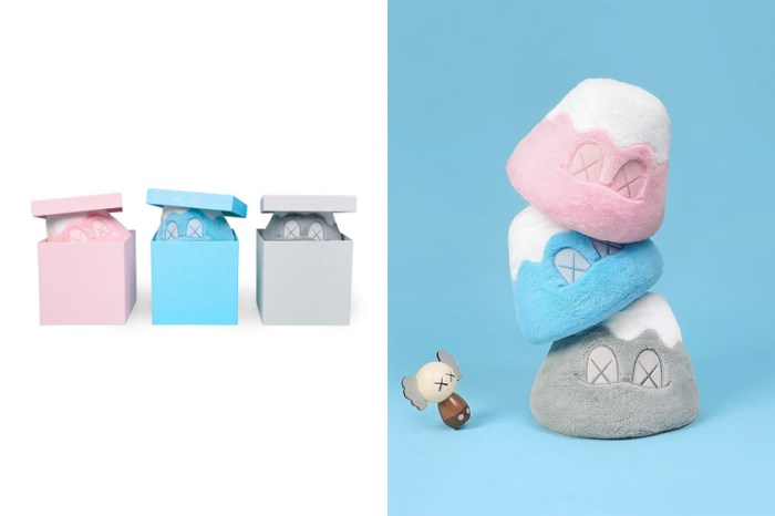 一年後補貨了,《KAWS:HOLIDAY》日本站的富士山玩偶限定 MoMA 上架!