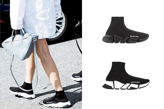 包覆性高+更舒適:Balenciaga 襪套鞋重新設計,又將引起轟動?