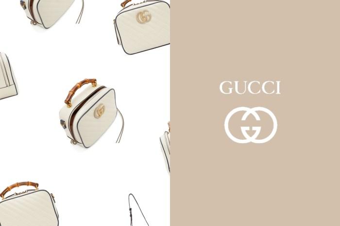 來自人氣系列 GG Marmont:宛如珠寶盒般古典優雅的這顆 Gucci,絕對是 2.0 版中的遺珠手袋!
