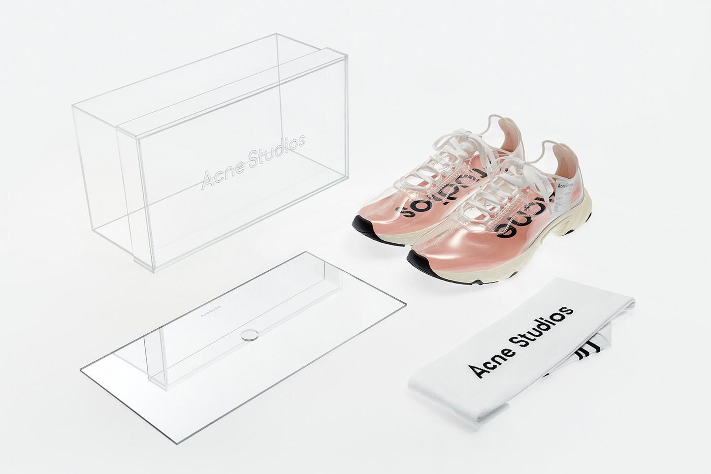 acne studios n3w transparent trail sneaker release