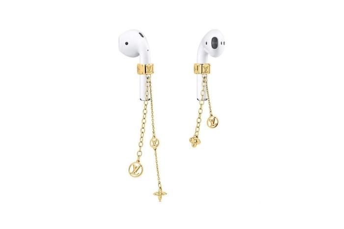 連耳機也有奢侈綴飾!猜猜 Louis Vuitton 這對引起討論的飾品售價會是多少?