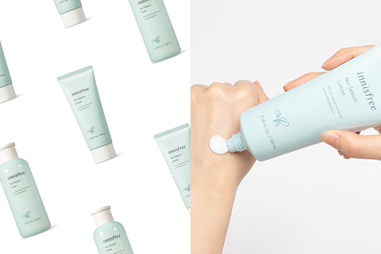 innisfree no sebum powder lotion toner new skincare 2020