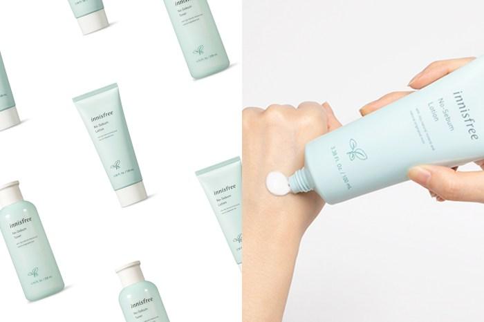 排行榜常客:Innisfree 的控油礦物質粉餅推出化妝水和乳液,保養出漂亮的啞光感!