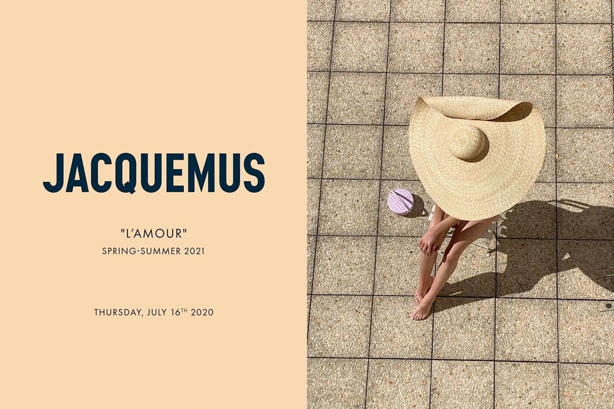Jacquemus 2021 fashion runway show L'amour