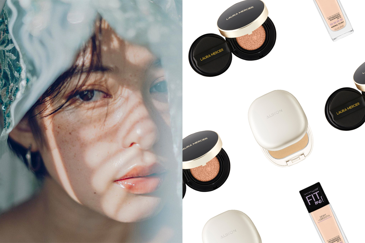 Japan Cosme 2020 Best Sellers Foundation Base Makeup Products BB Cushion Foundation Maybelline New York Fit Me! DEWY & SMOOTH FOUNDATION  ALBION WHITE POWDERLESST  Compact Foundation  LAURA MERICER  Flawless Lumière Radiance-Perfecting Cushion SPF 50 / PA+++ Cosmetics Makeup