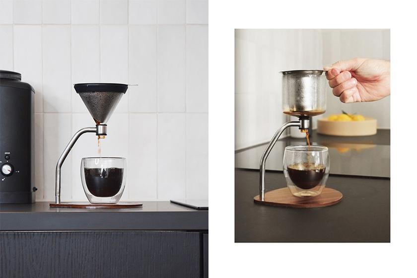 joy resolve manual immersion brewer coffee machine