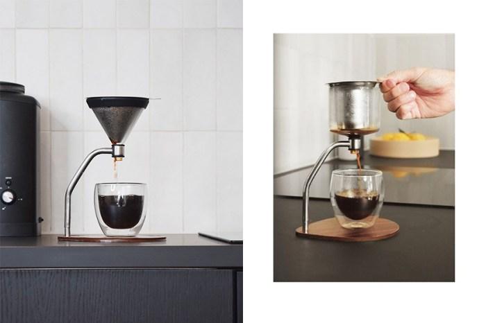 質感生活的靈魂所在:這款一體成型的咖啡機,更適合懂得享受生活的你!