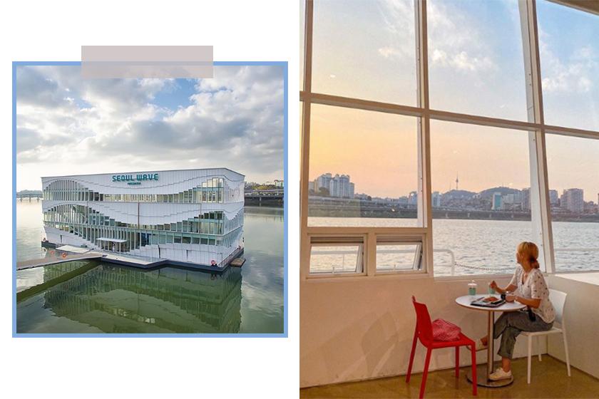 korea travel Seoul Wave Art Center instagram spot