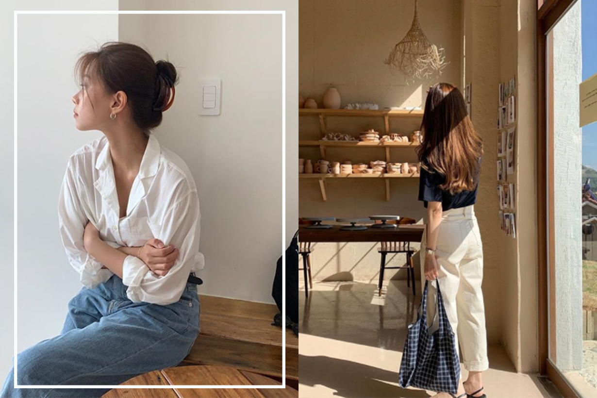 Korean Fashion Style Summer Outfit Ideas