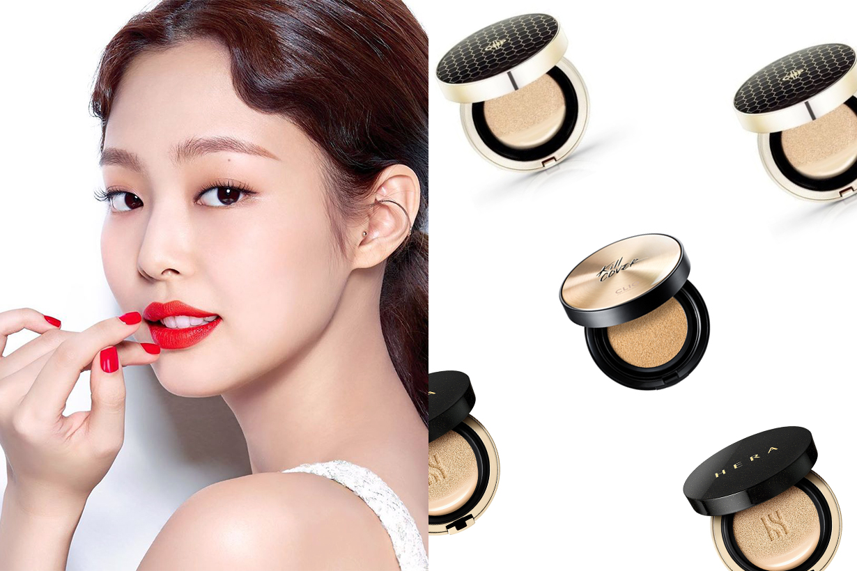Korean Girls Voting Favorite Cushion foundation AGE20's CNP Laboratory HERA CLIO VANT36.5 Korean cosmetics makeup tips