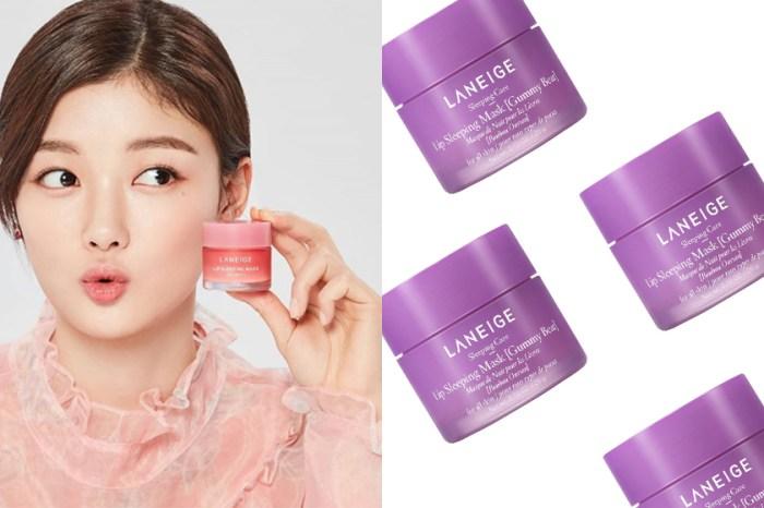 品牌最暢銷產品:Laneige 唇部睡眠面膜推出全新「熊仔糖」口味!