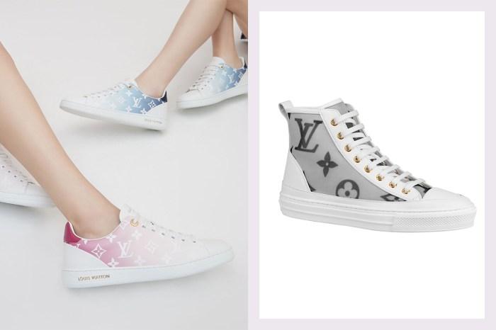 Louis Vuitton 球鞋系列矚目登場:Logo 印花奢華設計,令人只想乖乖奉上錢包!