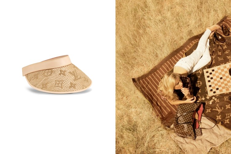 今夏熱款配件:Louis Vuitton 以酒椰葉編織出 Monogram 老花圖騰,拼接皮革的細節實在美翻!