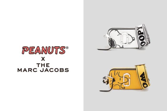 The Marc Jacobs 再度找上 PEANUTS,而且鎖定人氣相機包推出史努比版!