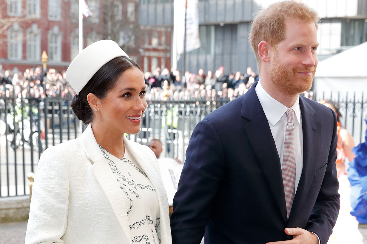 Meghan Markle Apparently Got in Big Trouble Because Of a Necklace