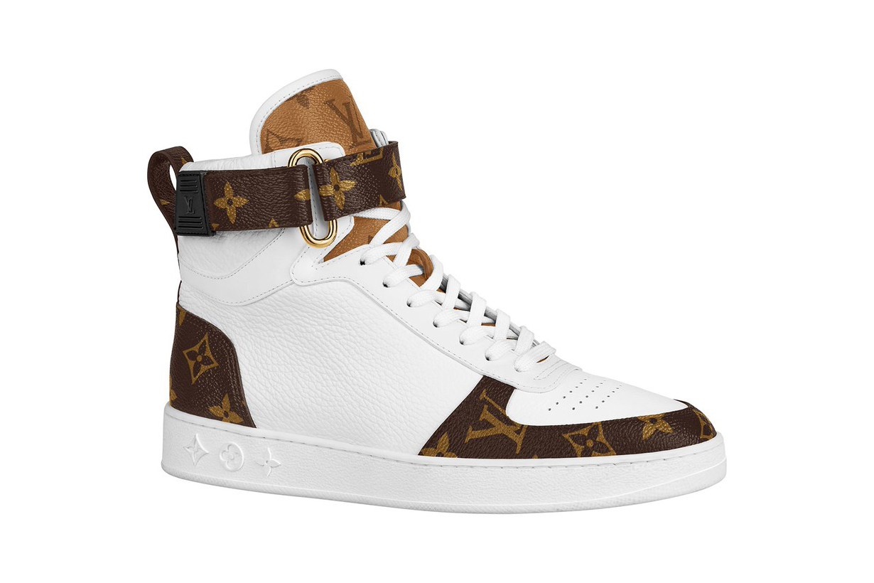LOUIS VUITTON RELEASES LOGO-HEAVY SNEAKERS FOR PRE-FALL 2020