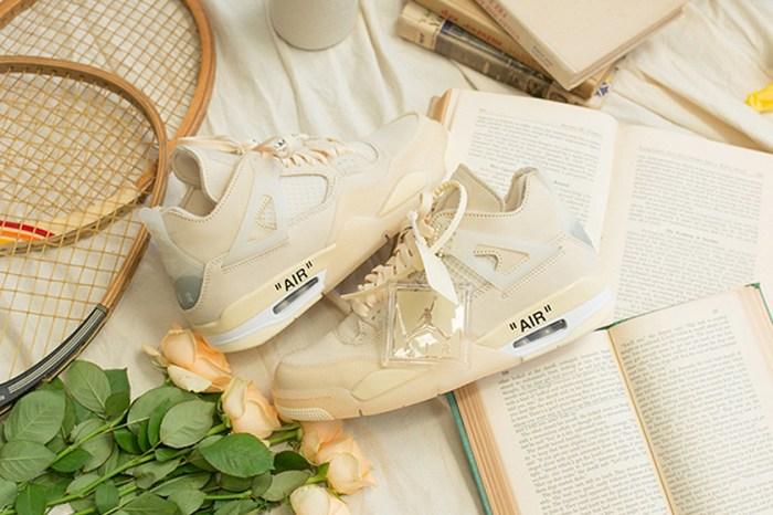 夢幻奶油色太迷人:大人氣聯名鞋款 Off-White x Air Jordan 4 開賣預告!