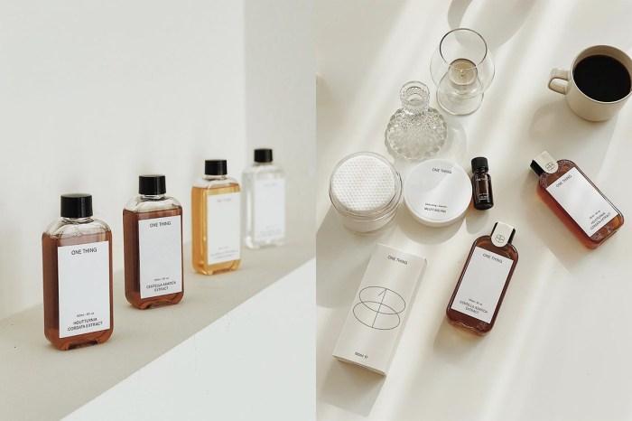 韓國小眾護膚品牌 One Thing:用最純粹的原材料,解決暗瘡、皺紋、黑斑等各種肌膚問題!