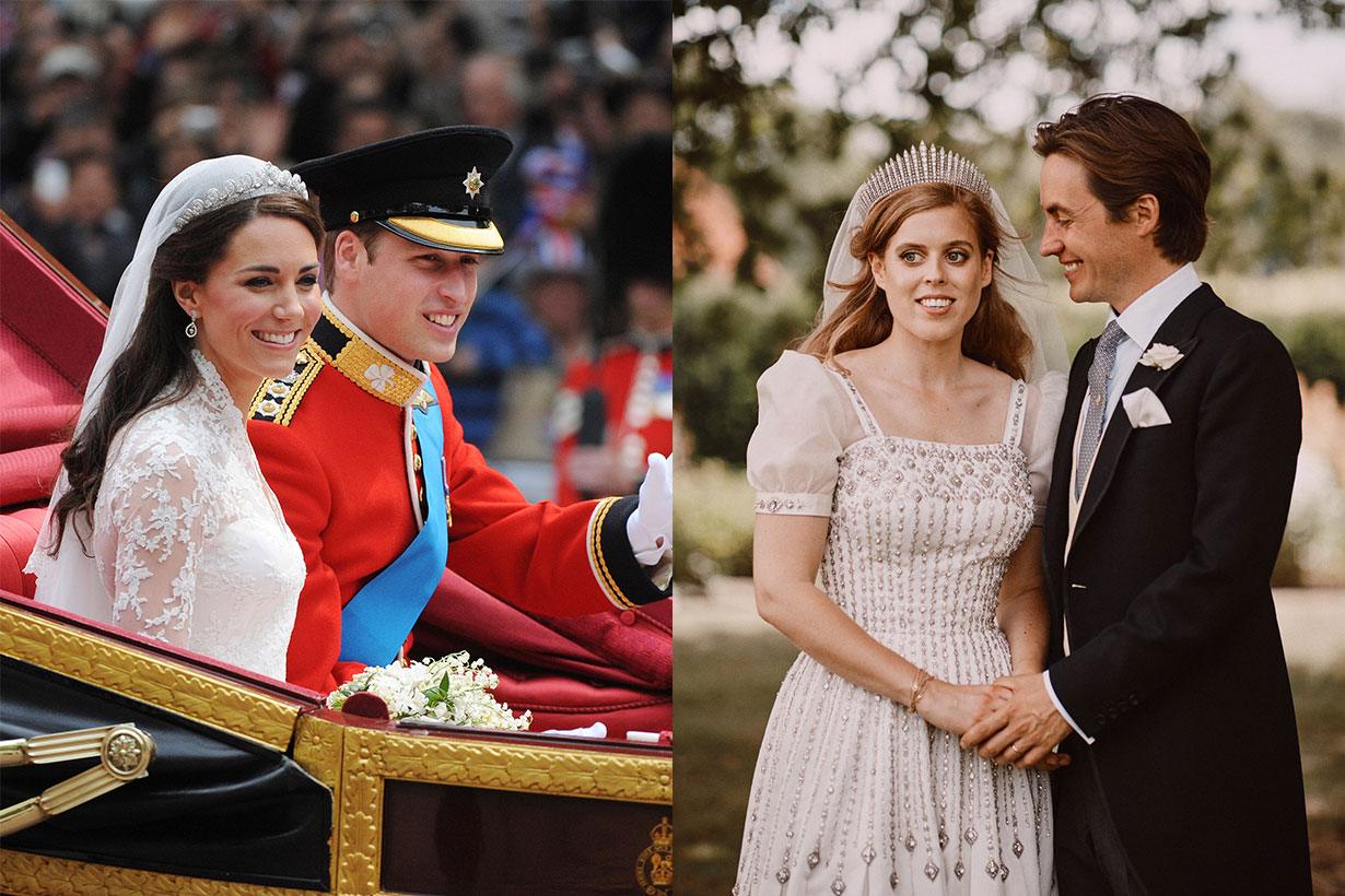 Princess Beatrice's Wedding Shared a Special Feature With Meghan Markle & Kate Middleton's