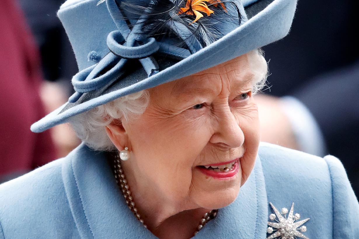 Queen Elizabeth II  substitute double Ella Slack British Royal Family