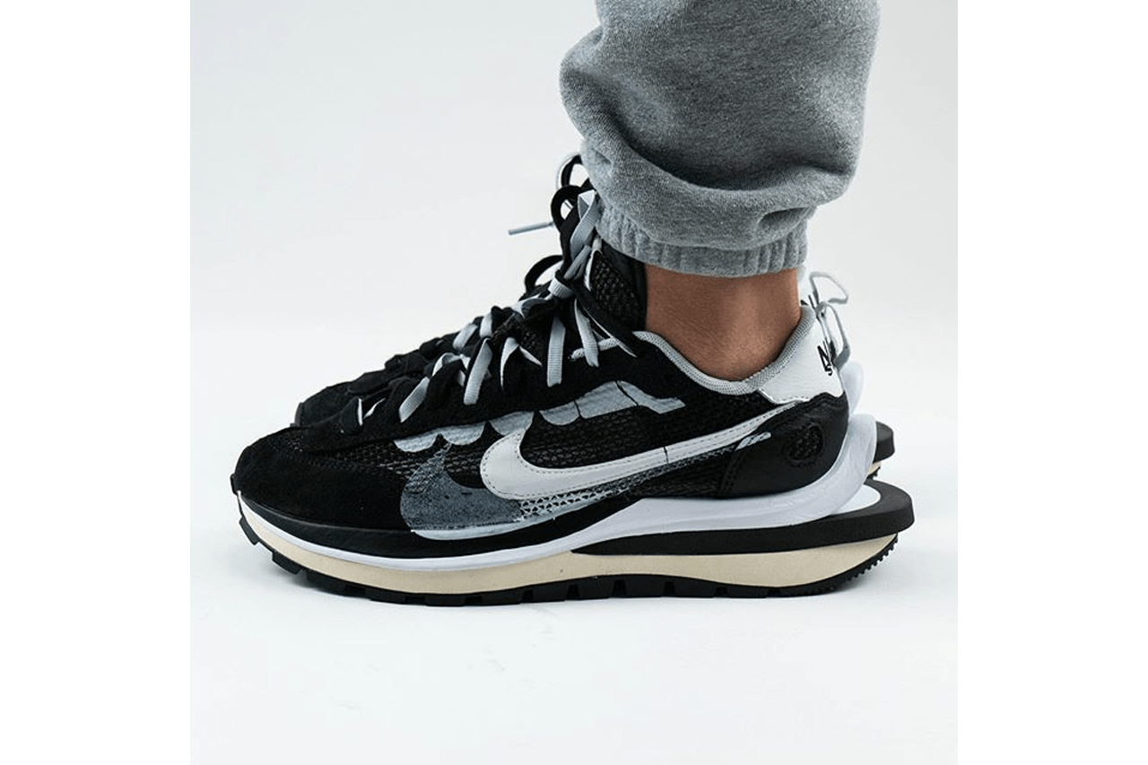 sacai nike vaporwaffle pegasus vaporfly sp black summit white pure platinum sneakers