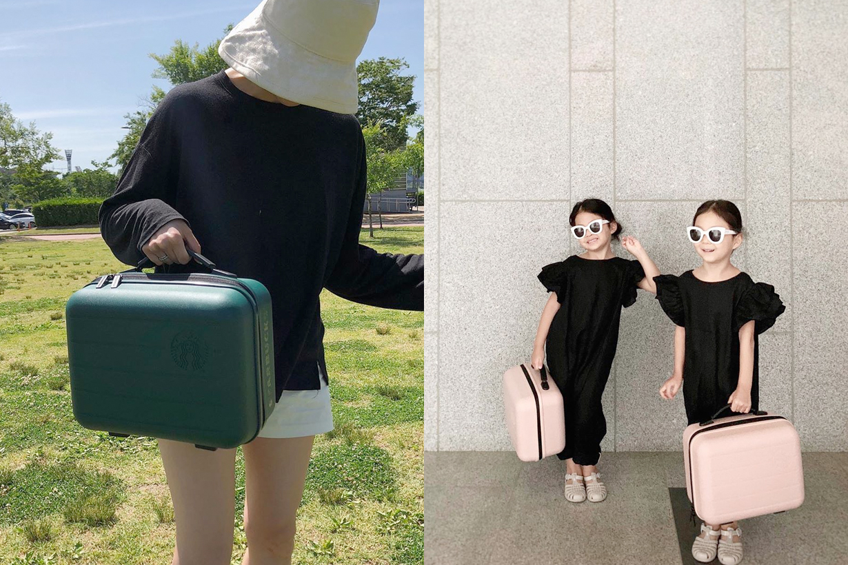starbucks korea suitcase camping how to get 2020 limited
