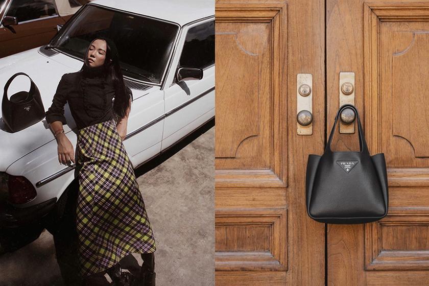 Prada tote bag 2020 Pre Fall handbags