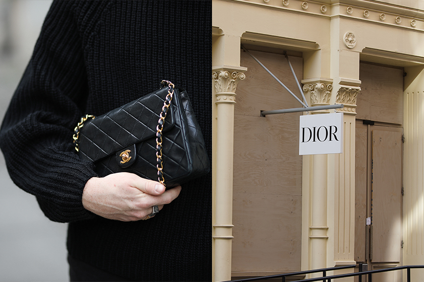 dior catching up chanel cruise lecce fashion luxury brand