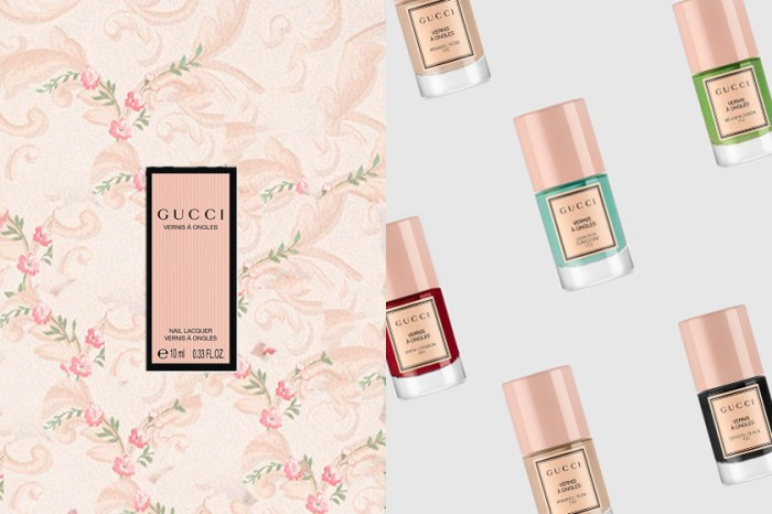 白皙+優雅:Gucci Beauty 推出復古指甲油,讓雙手如寶石般迷人!