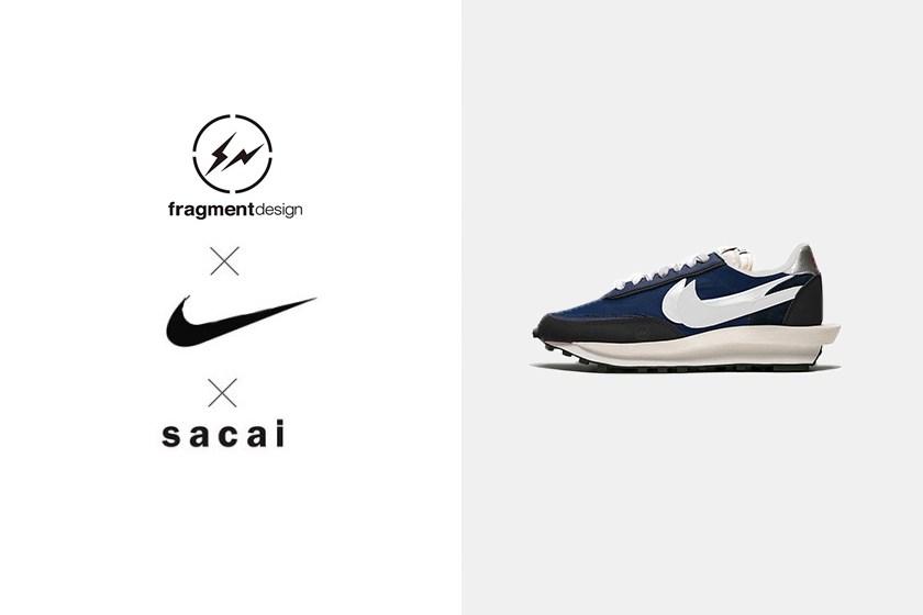 sacai x Nike LDWaffle x fragment design