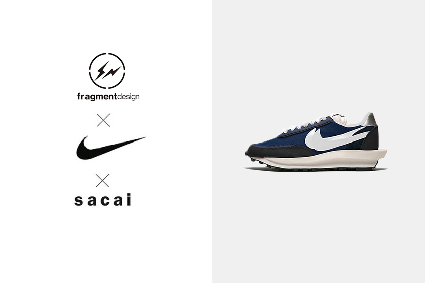 fragment design x sacai x Nike LDWaffle sneakers