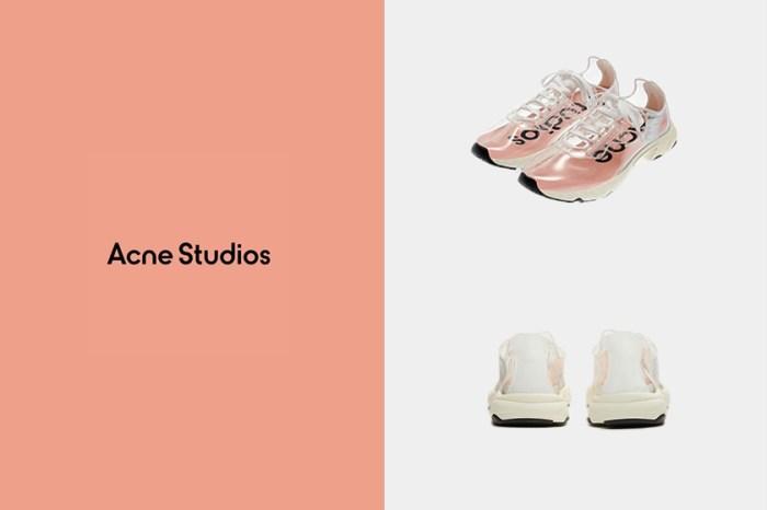 Acne Studios絕美全透明波鞋,被評為一雙考驗品味的鞋款!