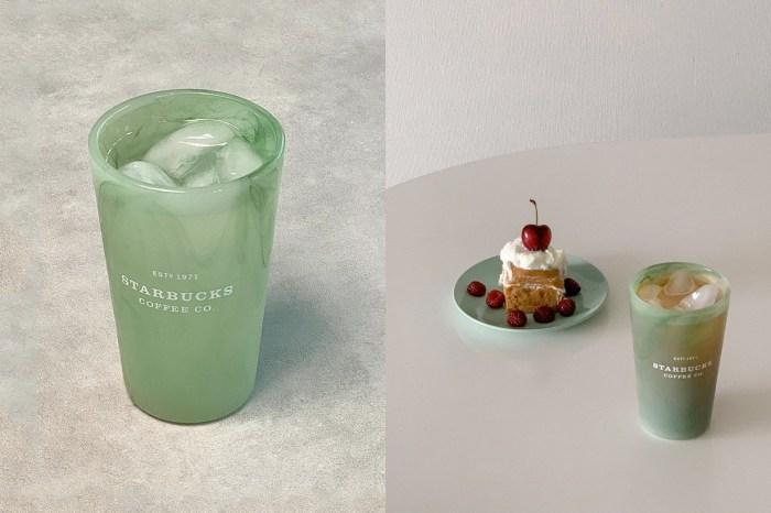 難怪能洗版社群:Starbucks 推出透明青瓷杯,每款在陽光下映出獨一無二的色澤!