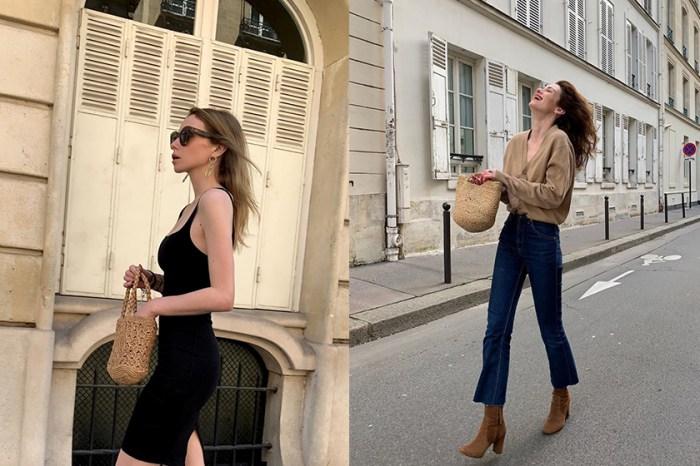 宛如從文藝電影走出來:嬌小巴黎女生,用基本單品穿出法式慵懶!
