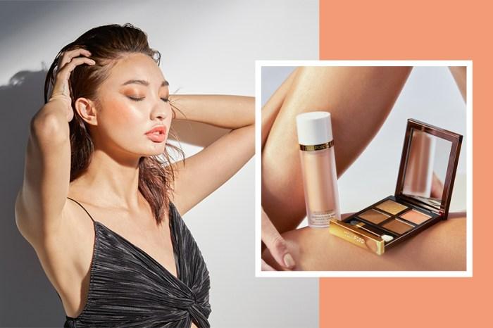 夏日 No.1 打卡妝容:向 TOM FORD 星級化妝師請教,閃鑽蜜桃妝實用秘技!