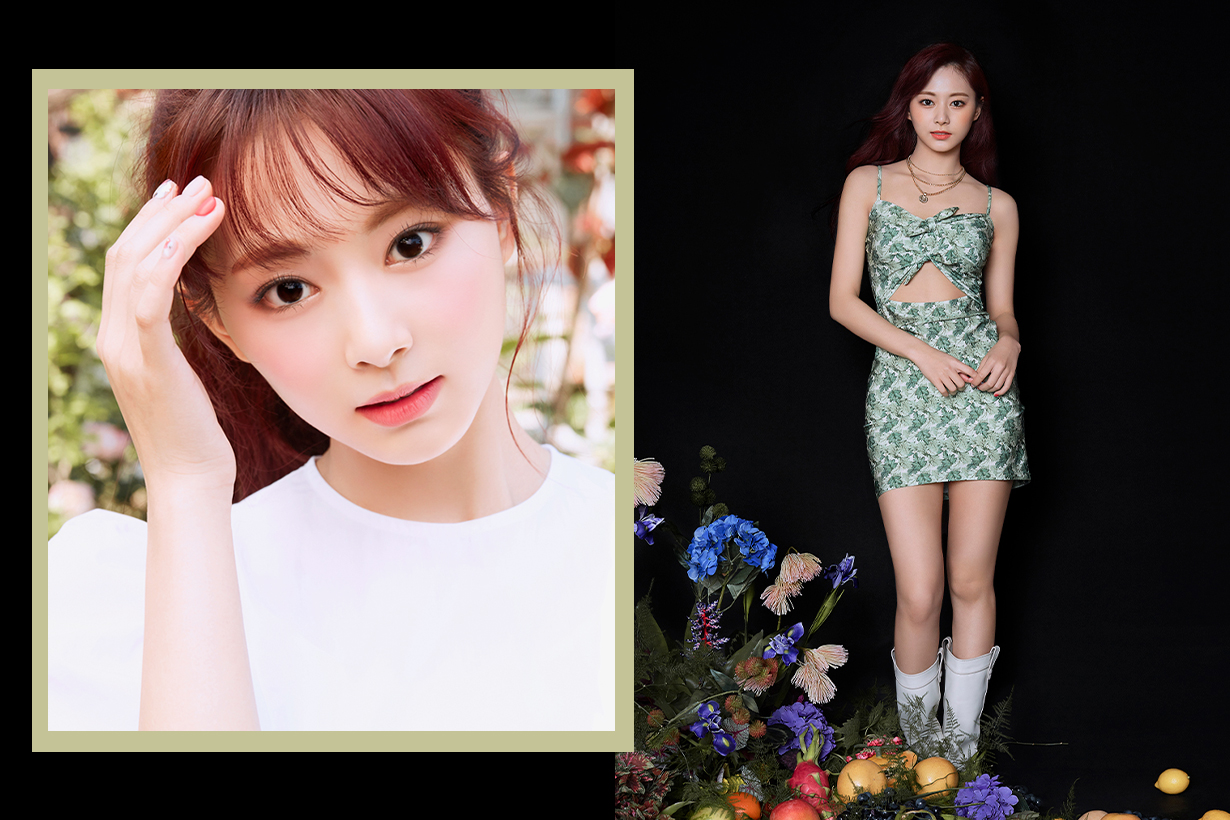 TWICE Chou Tzu Yu Tzuyu More & More Celebrities Hair Colour Trend 2020 Summer Hairstyles korean idols celebrities singers girl bands