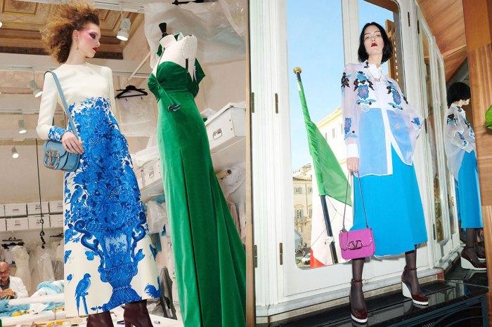 Valentino 情繫荷蘭藍陶:Bluegrace 早秋系列的一抹藍,是日夜皆宜的優雅!