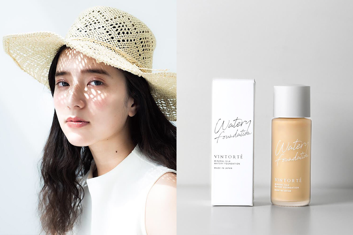 Vintorte Watery Foundation Base Makeup Japanese Cosmetics Makeup Mineral Cosmetics