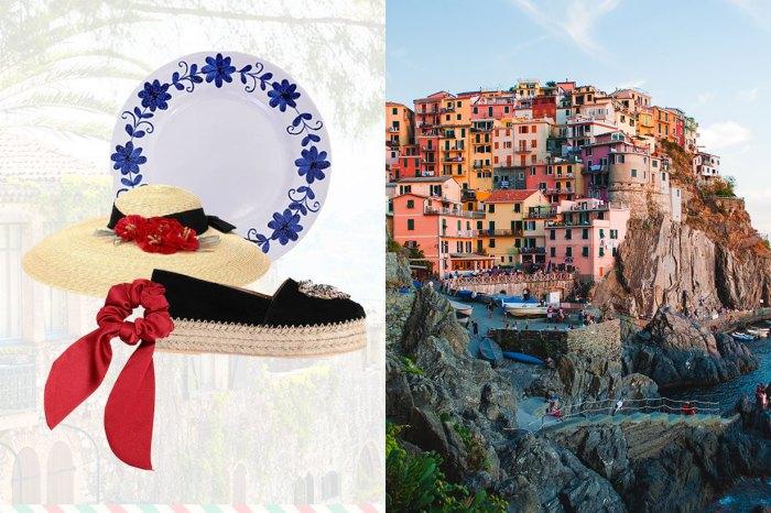 準備好夏日涼鞋、連身裙、精緻瓷器……在家也可感受意大利風情!