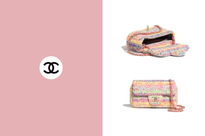 宛如塗上了粉彩筆:以針織取代皮革,寫著不能不買的 Chanel 新款 Flap Bag!