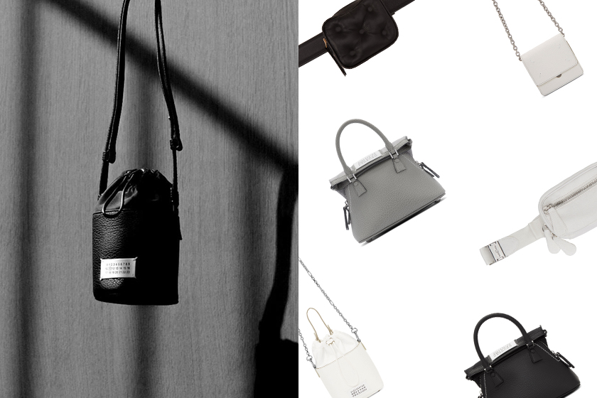 Maison Margiela Black and White Handbags