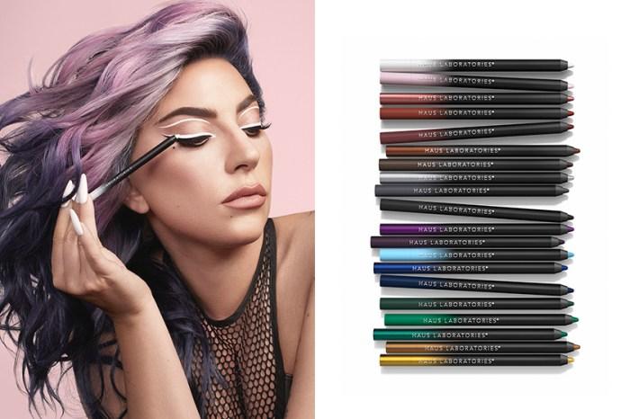 一口氣推出多達 20 種顏色!Lady Gaga 美妝品牌 Haus Beauty 帶來全新眼線筆!