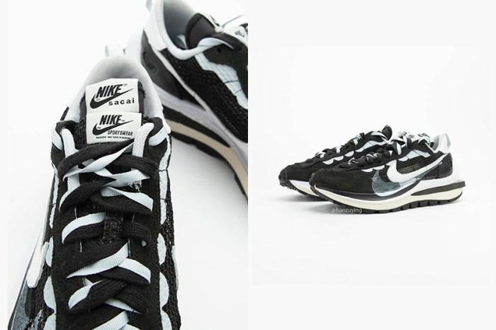 還未開售已經討論度破表:黑白視覺 sacai x Nike Vaporwaffle 更多細節一次預覽!