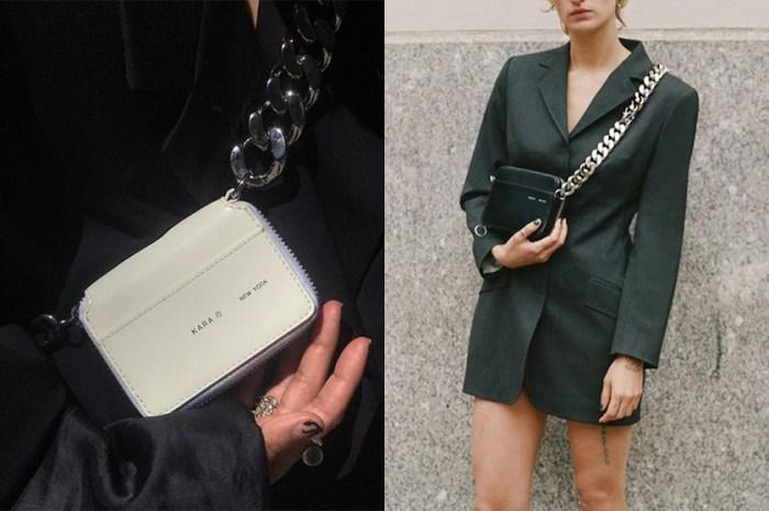 極簡設計中展現不羈性格:帥氣女生怎能錯過這幾款 KARA 的鍊條手袋!