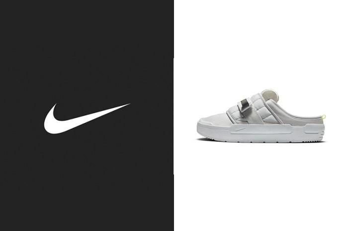 舒適腳感與極佳搭配性:Nike 推出灰階配色 Mules 拖鞋,還未開售就引起關注!